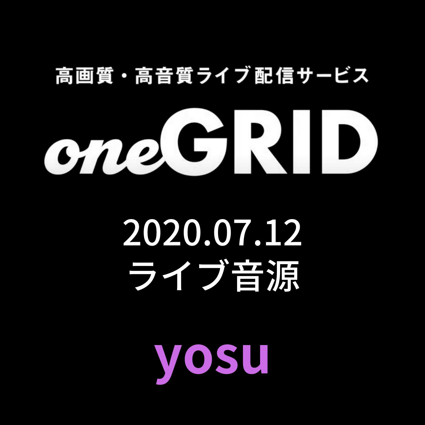 7/12 yosu Live音源